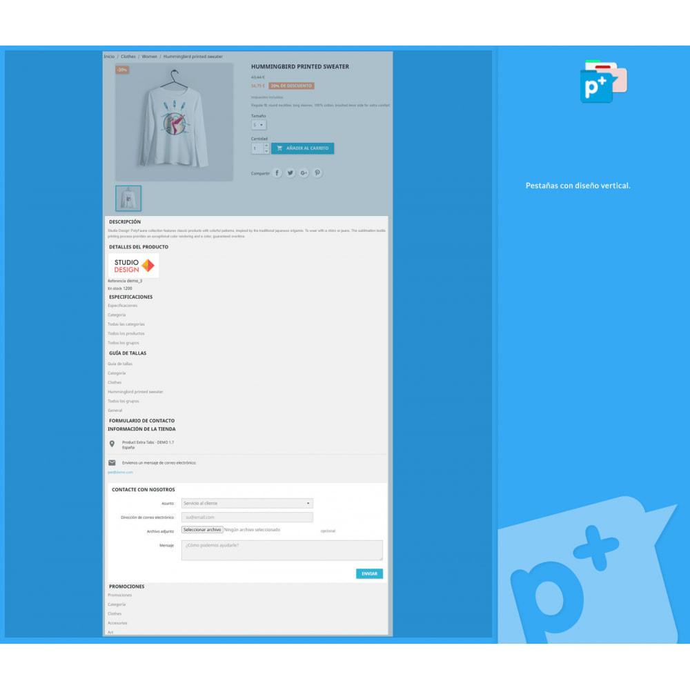 module - Informaciones adicionales y Pestañas - Product Extra Tabs - Pestañas informativas adicionales - 4