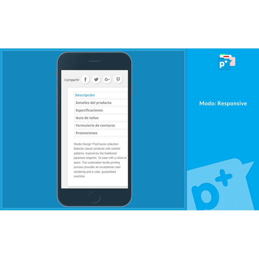 module - Informaciones adicionales y Pestañas - Product Extra Tabs - Pestañas informativas adicionales - 6