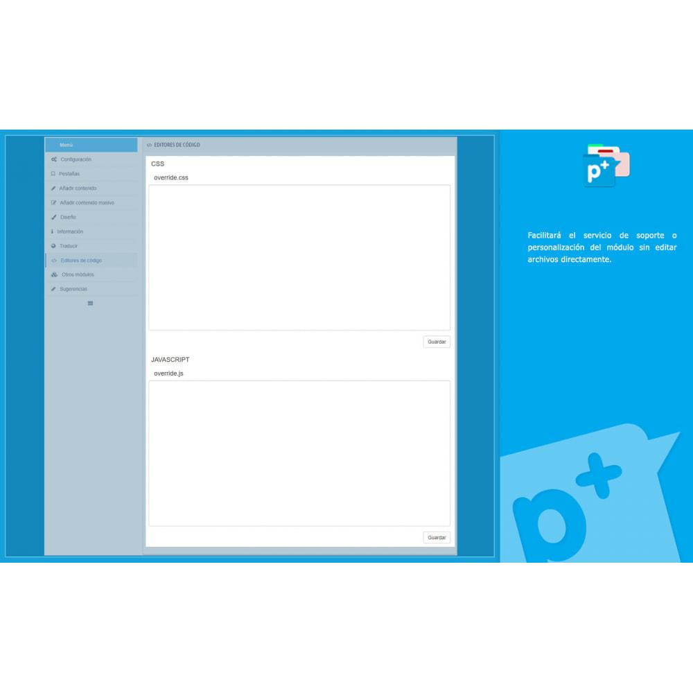 module - Informaciones adicionales y Pestañas - Product Extra Tabs - Pestañas informativas adicionales - 16