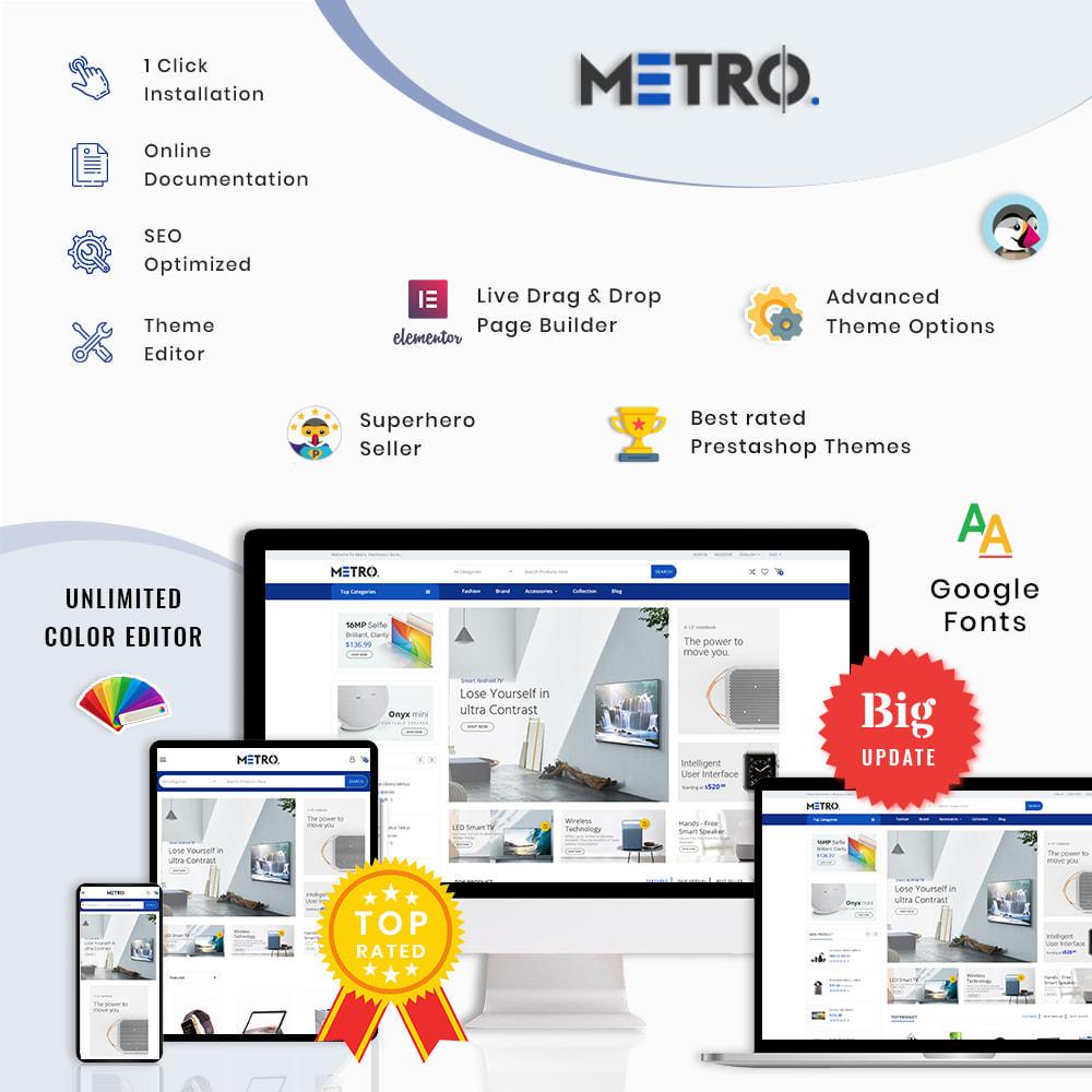 theme - Elektronik & High Tech - Metro Mega Electronics Multi Store - 1
