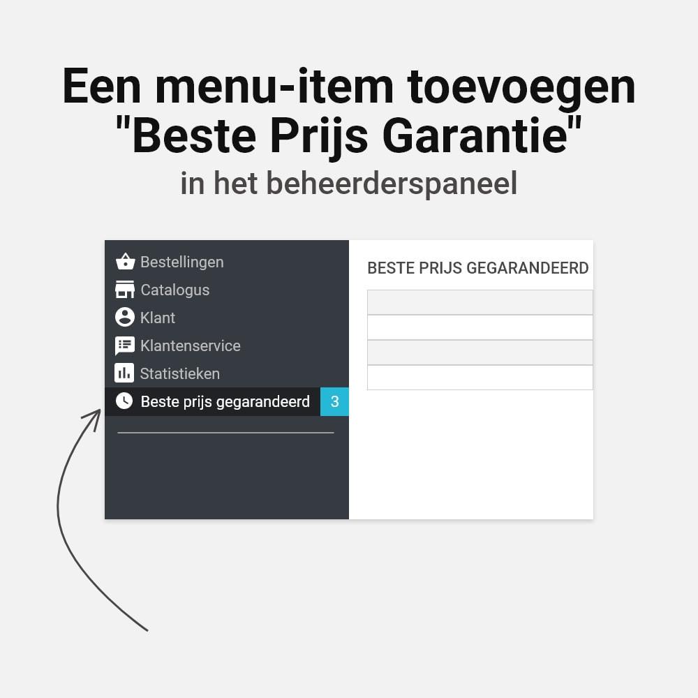 module - Prijsbeheer - Beste prijs garantie - 6