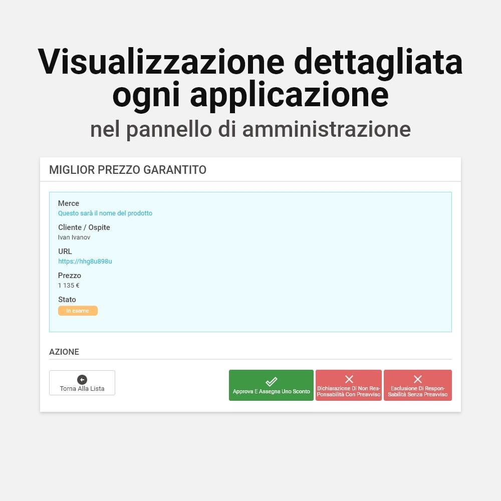 module - Gestione Prezzi - Miglior Prezzo Garantito - 8