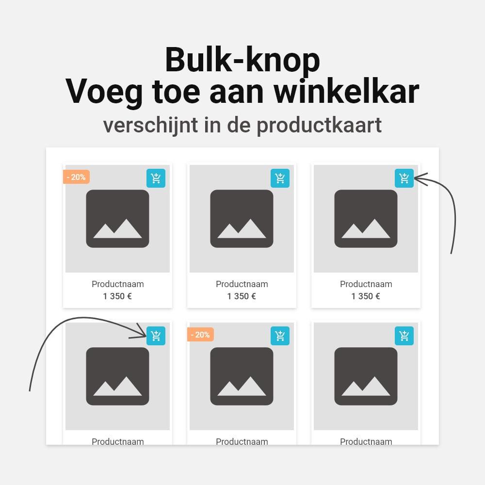 module - Personalisering van pagina's - Meerdere combinaties aan winkelwagen toevoegen - 3