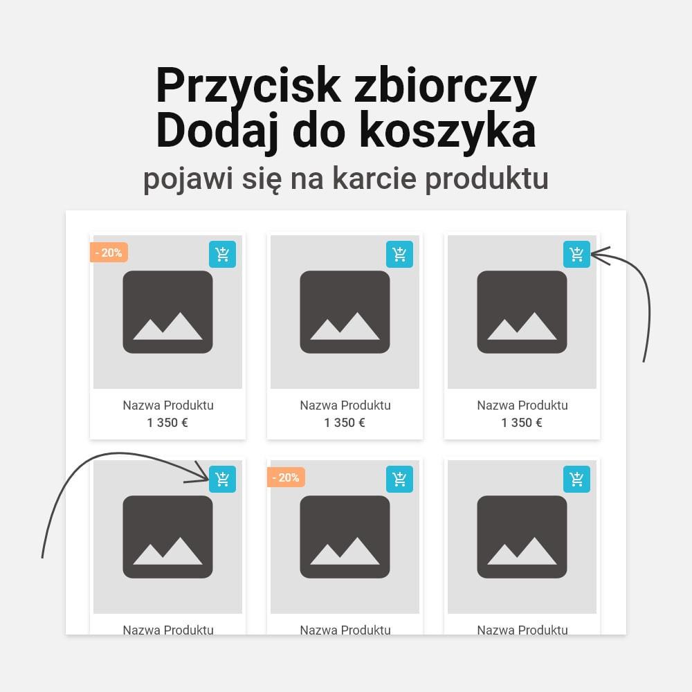 module - Personalizacja strony - Wielokrotne dodawanie kombinacji do koszyka - 3