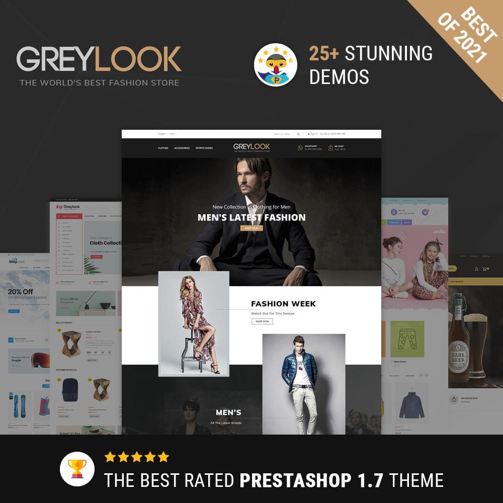 theme - Moda y Calzado - Grey Look - Fashion Store - 1