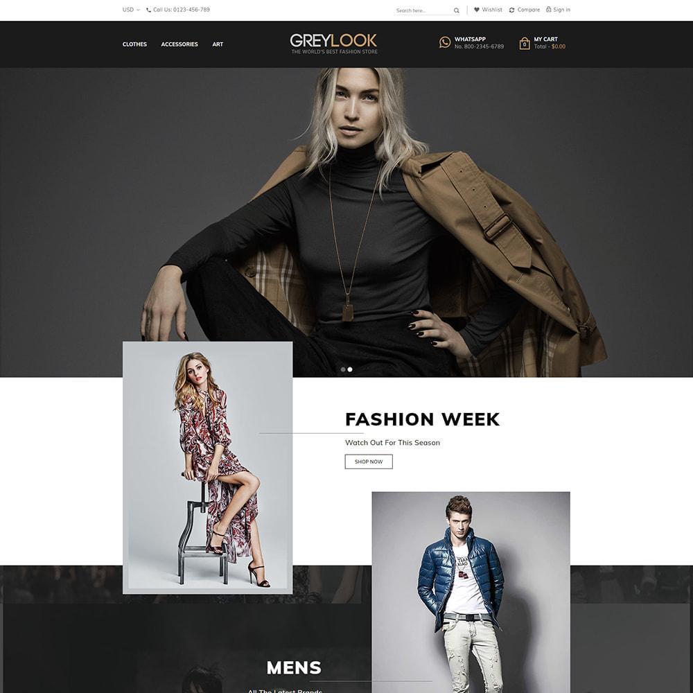 theme - Moda y Calzado - Grey Look - Fashion Store - 2