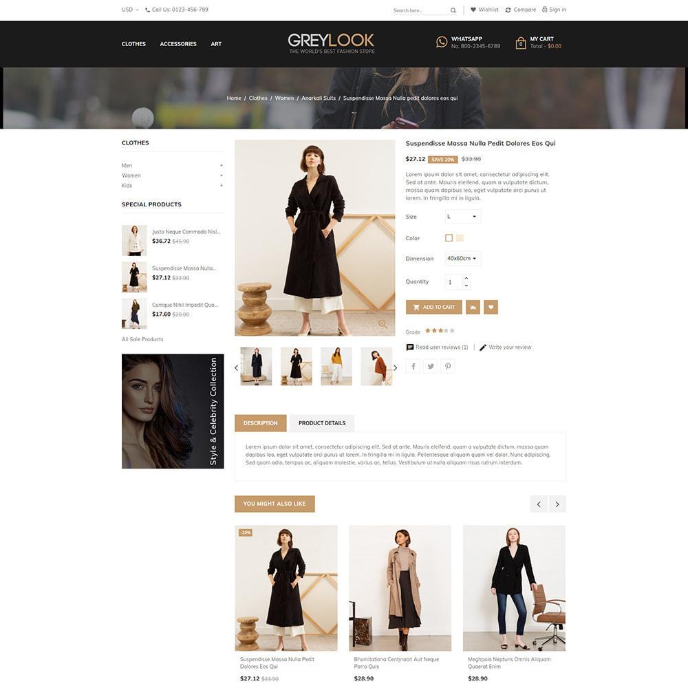 theme - Moda y Calzado - Grey Look - Fashion Store - 4