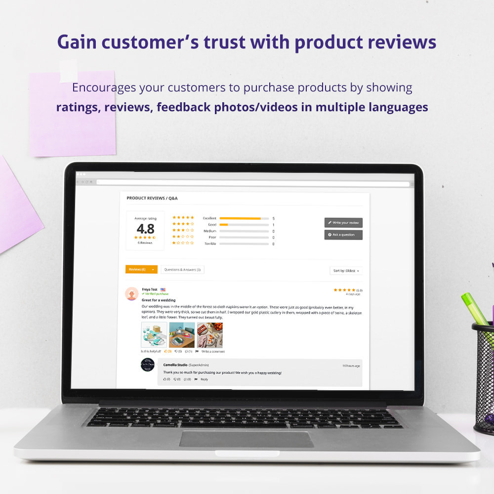 module - Opinie klientów - Trusted Reviews: Product reviews, ratings, Q&A - 2