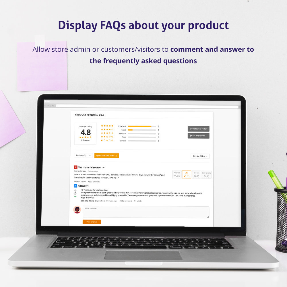 module - Opinie klientów - Trusted Reviews: Product reviews, ratings, Q&A - 3