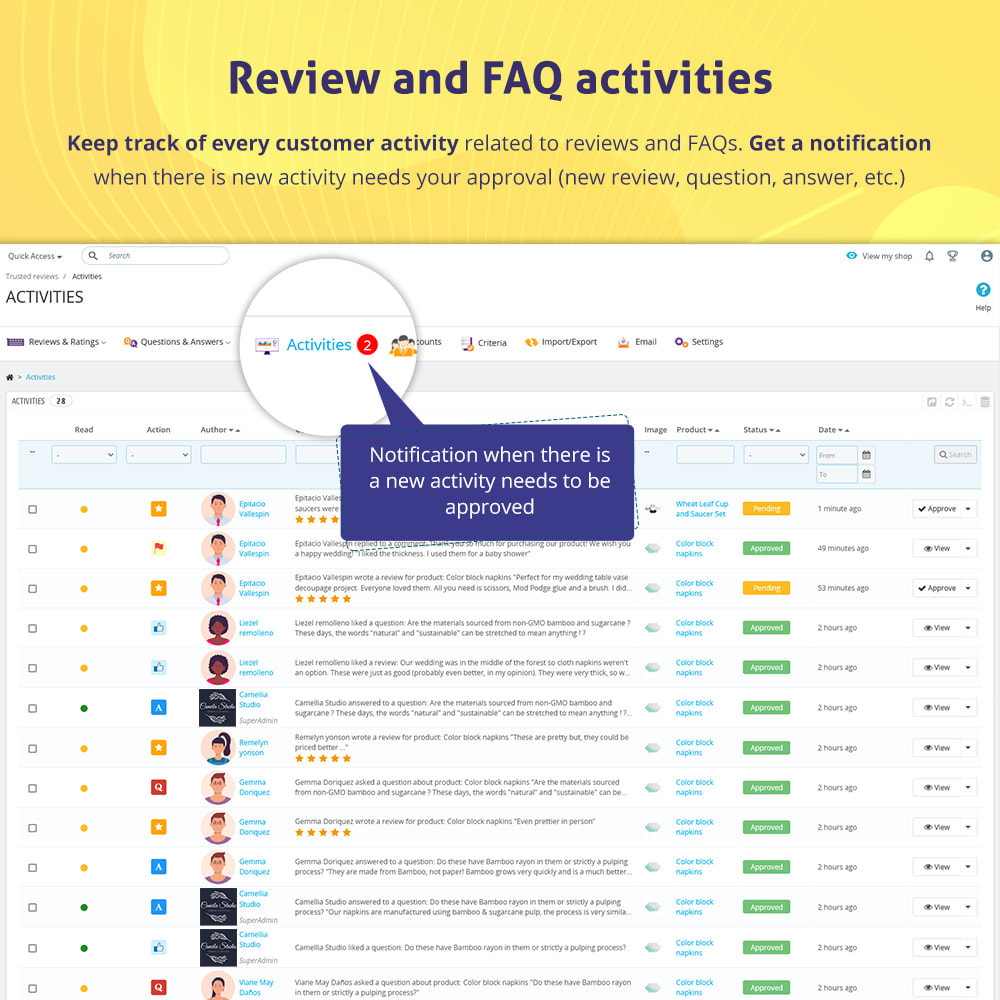 module - Opinie klientów - Trusted Reviews: Product reviews, ratings, Q&A - 9