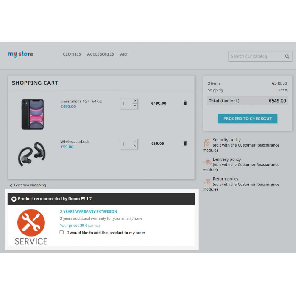 module - Pегистрации и оформления заказа - Add to cart checkbox - 2