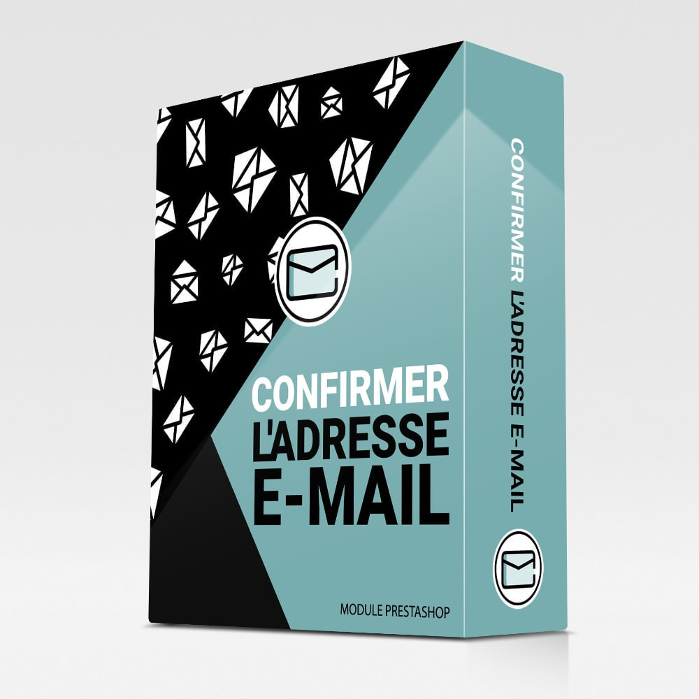 module - E-mails & Notifications - Confirmer l'adresse e-mail - 1