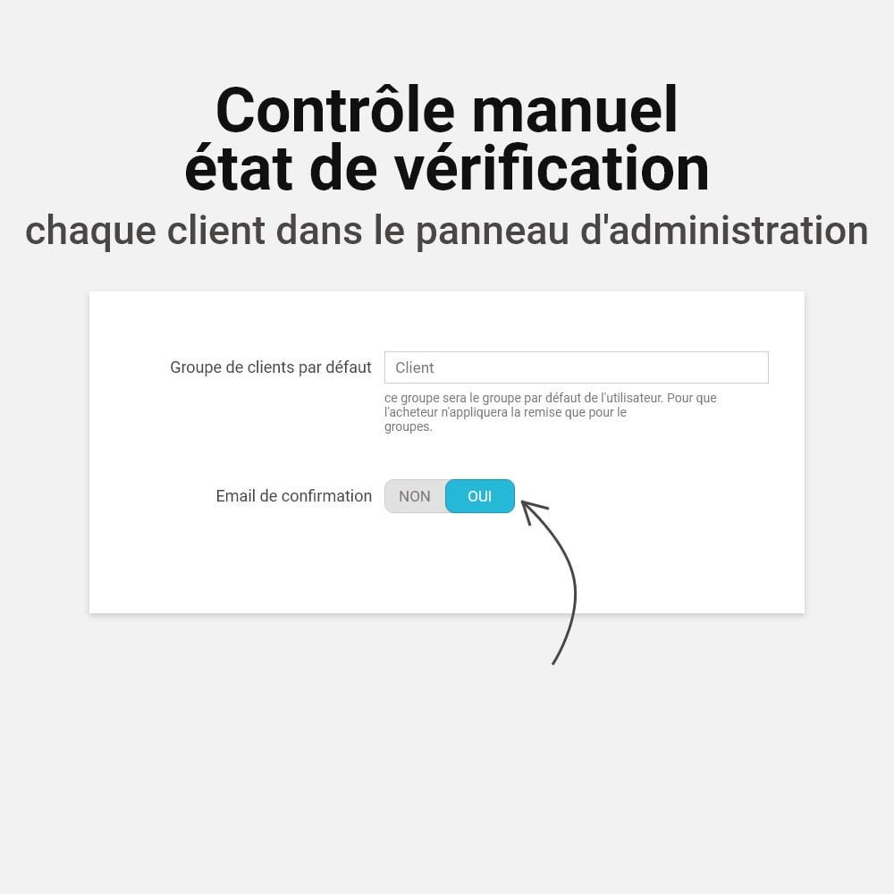 module - E-mails & Notifications - Confirmer l'adresse e-mail - 8