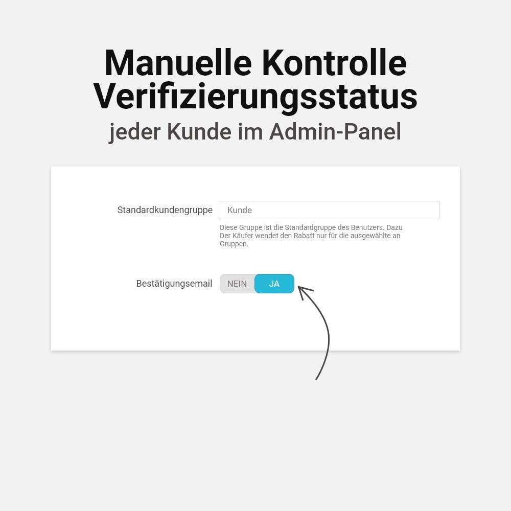 module - E-Mails & Benachrichtigungen - E-Mail Adresse bestätigen - 8