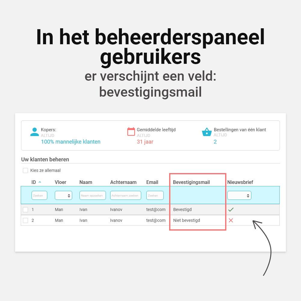 module - Emails & Notificaties - Email verificatie - 7