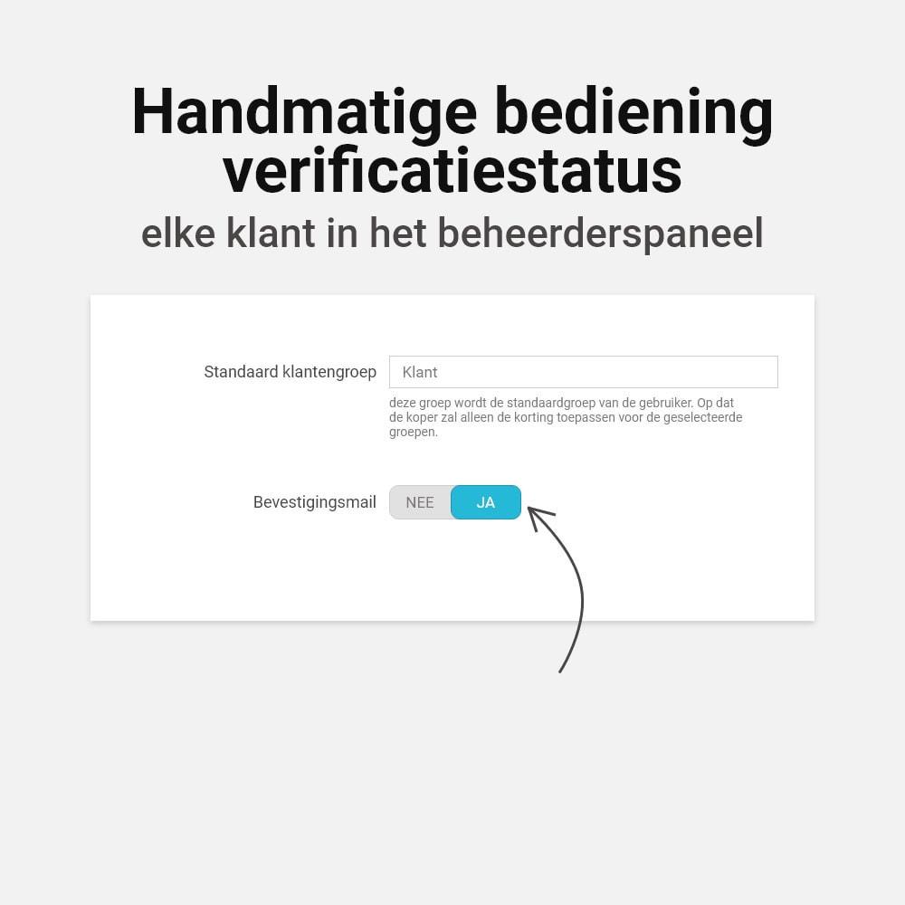 module - Emails & Notificaties - Email verificatie - 8