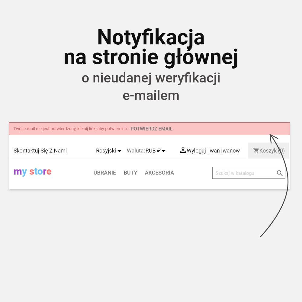 module - E-maile & Powiadomienia - Potwierdzenie adresu e-mail - 6