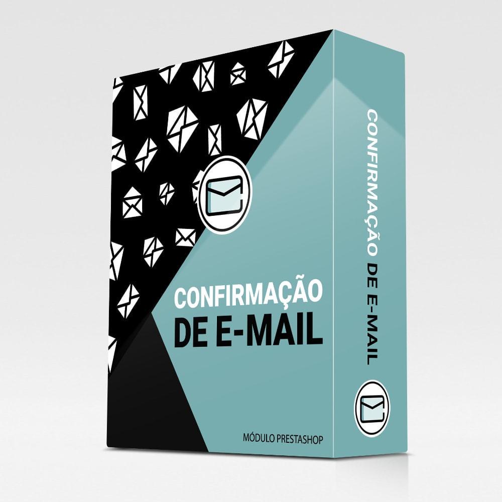 module - E-mails & Notícias - Confirmação de e-mail - 1