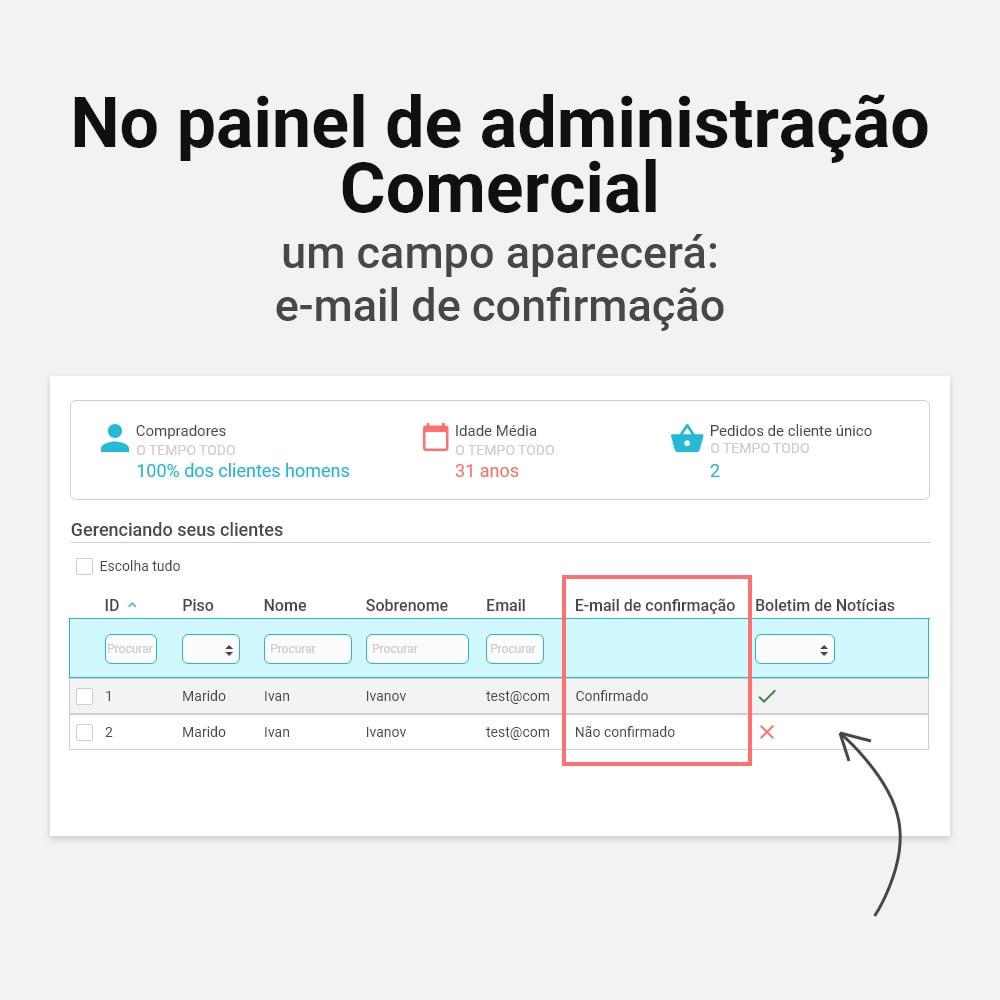 module - E-mails & Notícias - Confirmação de e-mail - 7