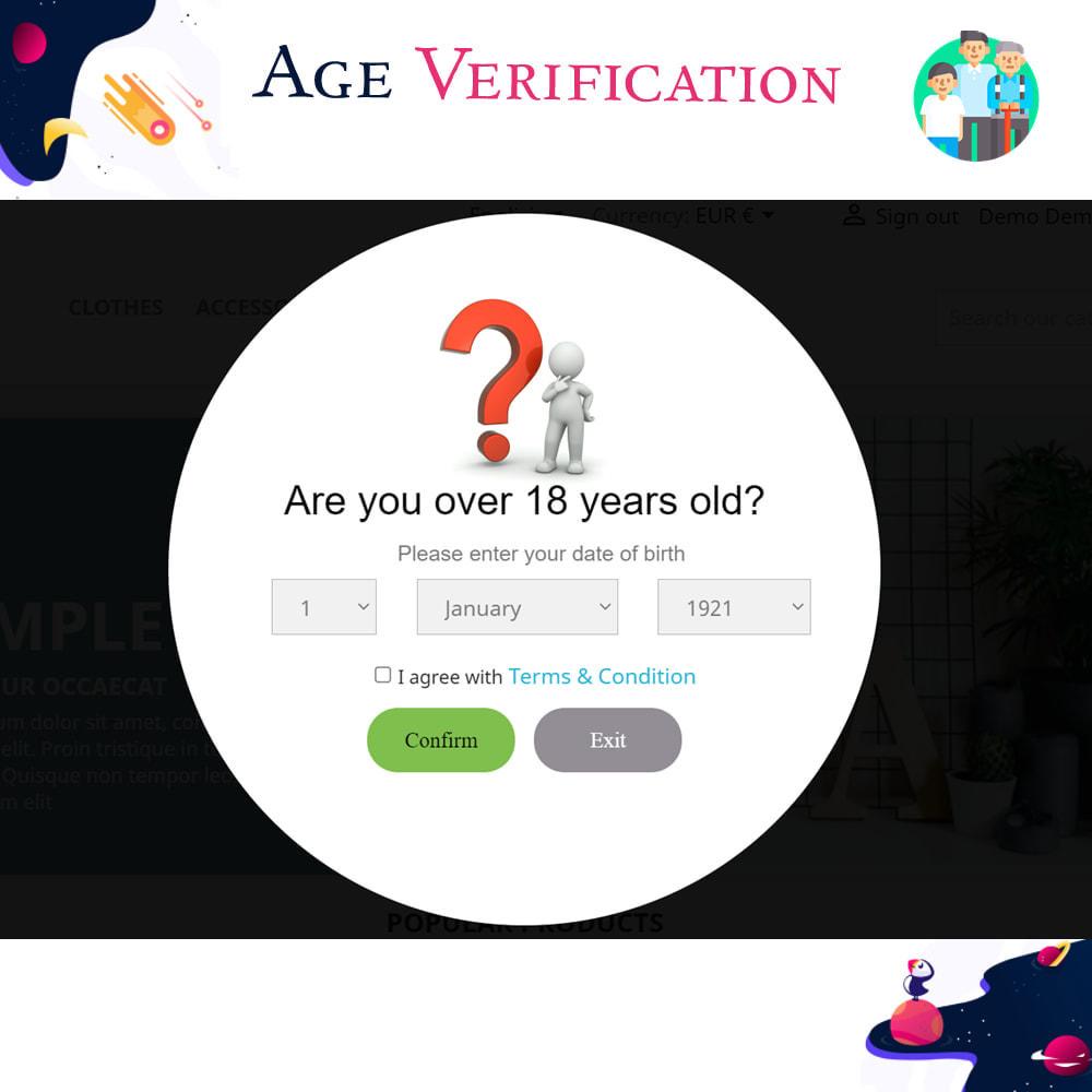 module - Администрация - Age Verification - 1