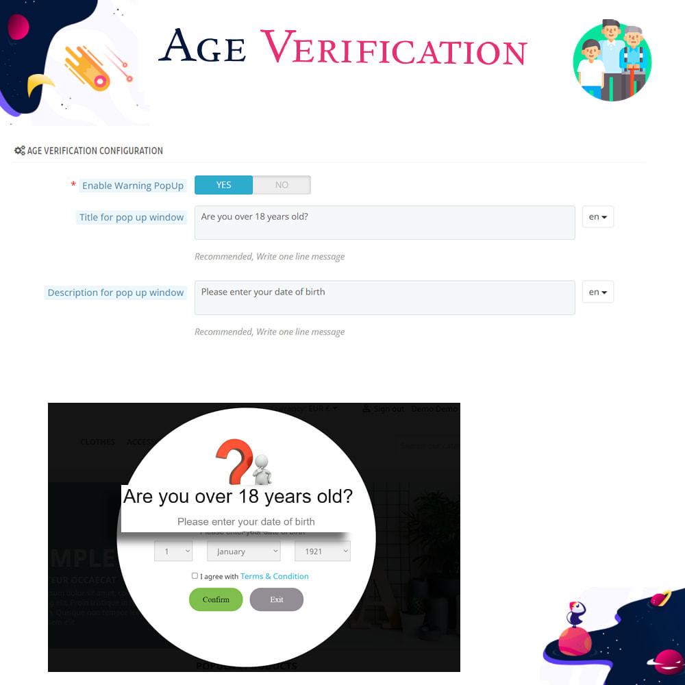 module - Администрация - Age Verification - 3