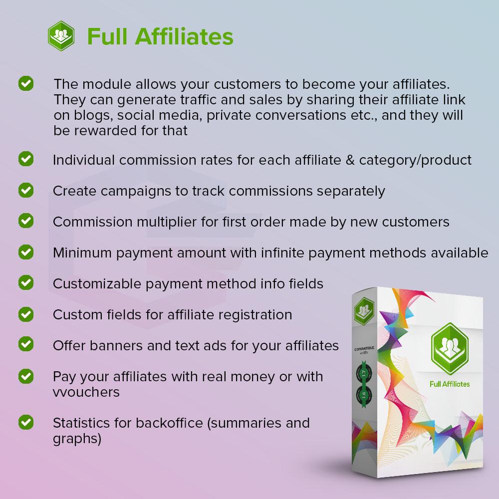 module - SEA SEM (paid advertising) & Affiliation Platforms - Full Affiliates - 1