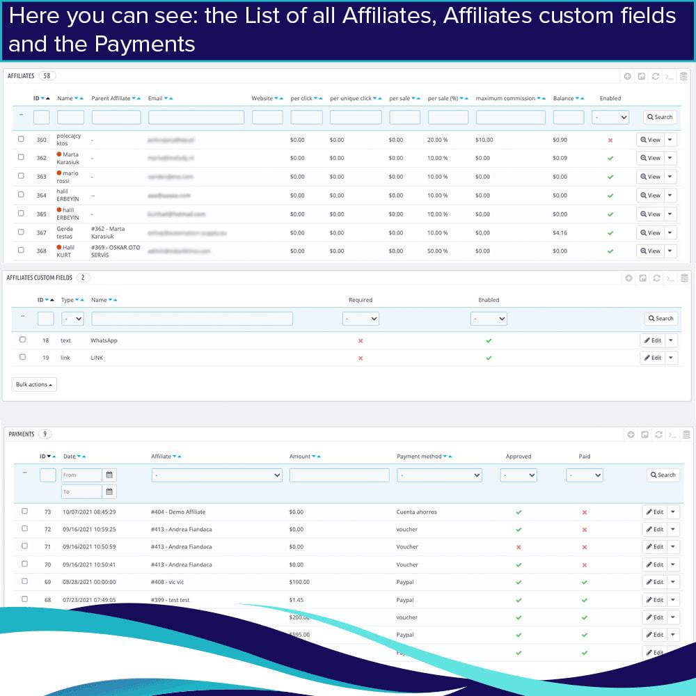 module - SEA SEM (paid advertising) & Affiliation Platforms - Full Affiliates - 14
