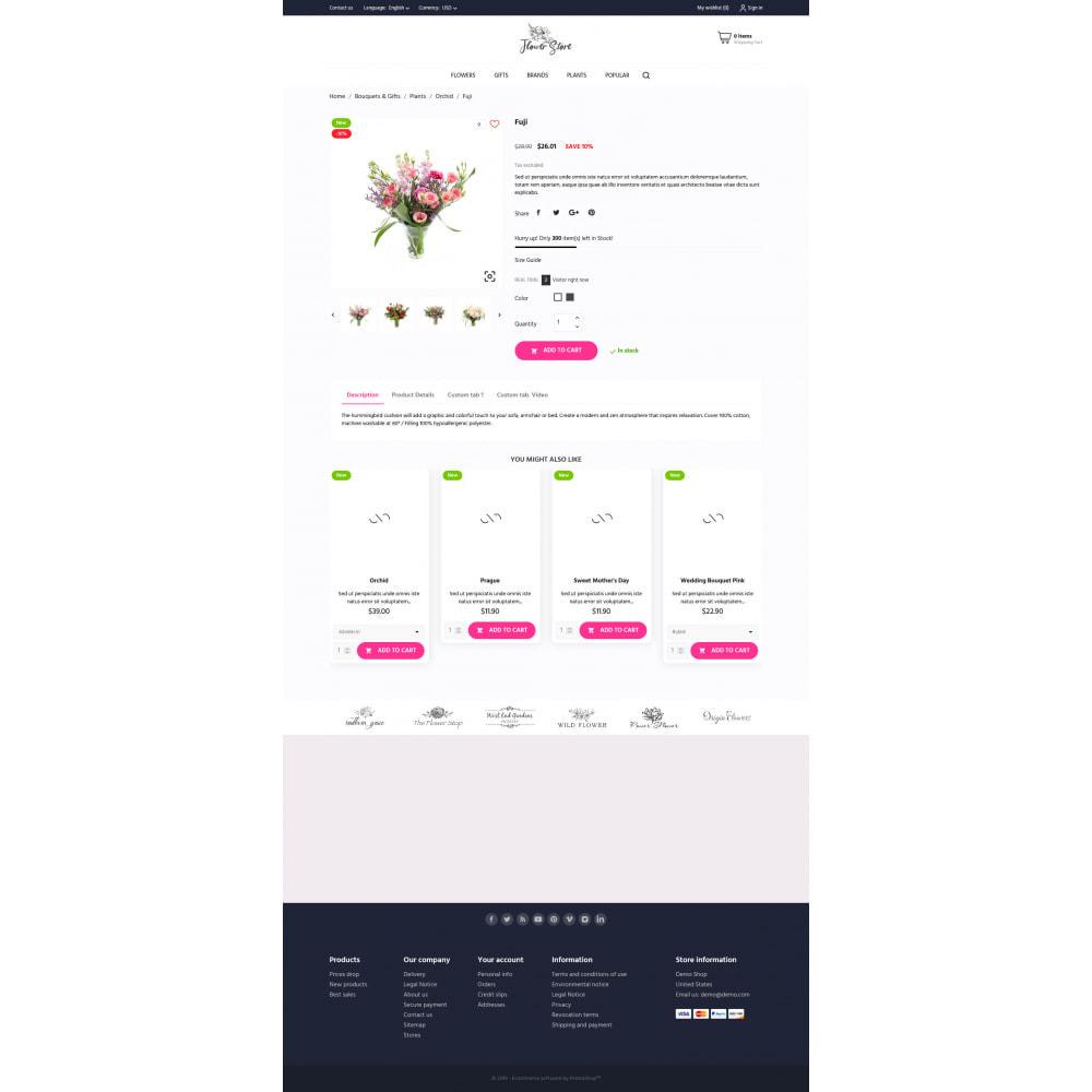 theme - Prezenty, Kwiaty & Uroczystości - Flower Store - 17