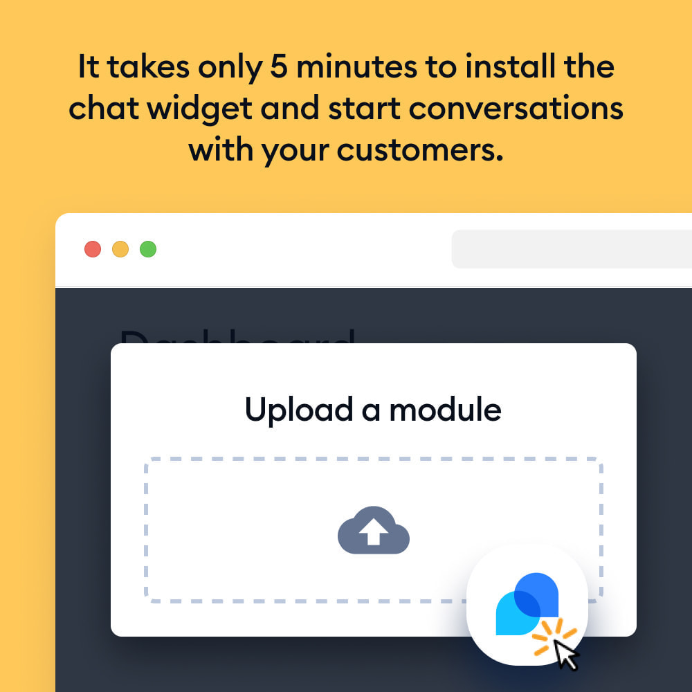 module - Support & Online Chat - Chatbots, Live Chat and Messenger by Tidio - 2