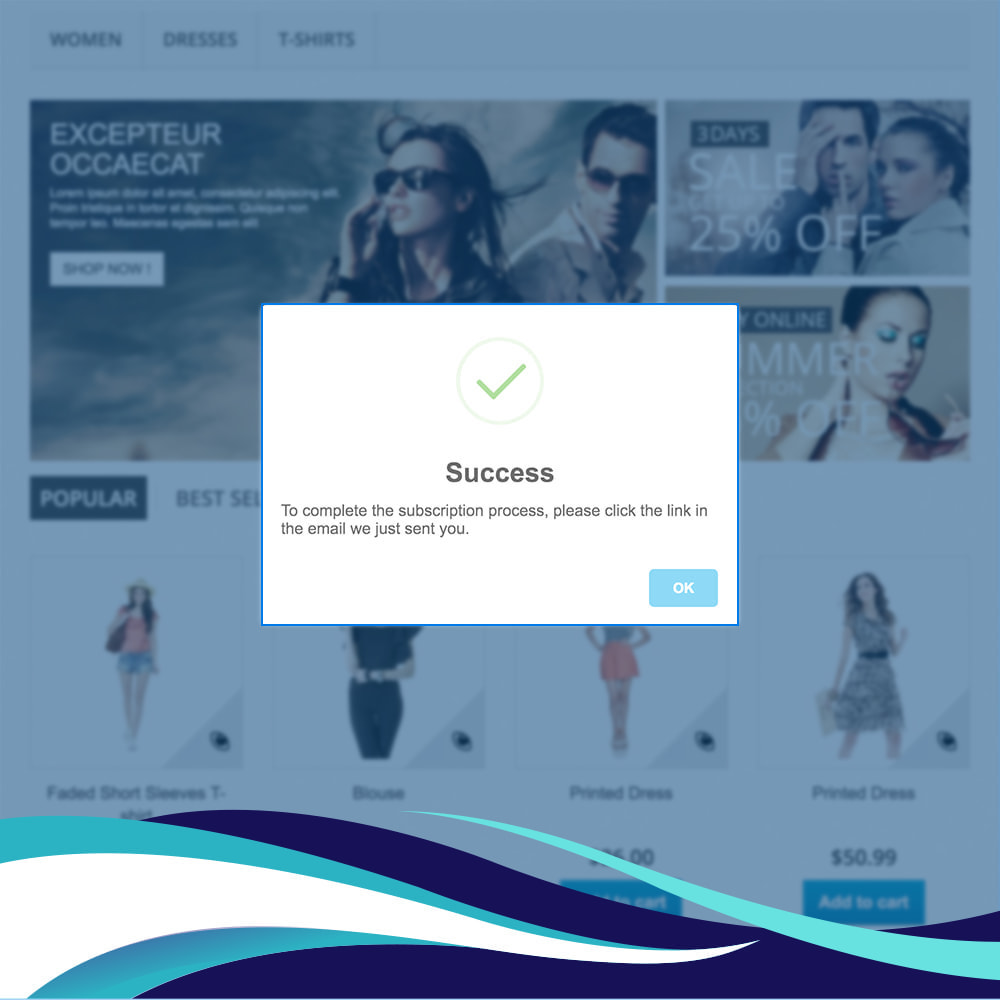 module - Newsletter & SMS - Newsletter Popup PRO with Voucher/Coupon code - 3
