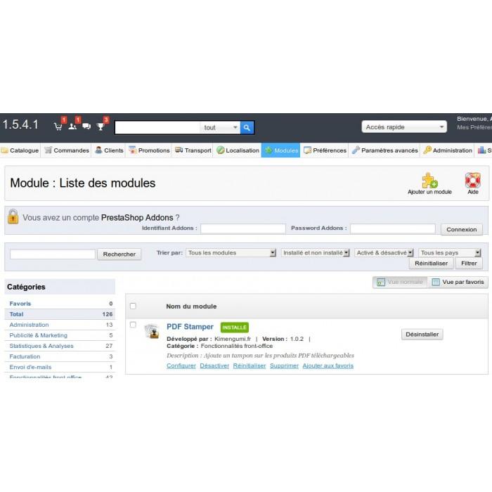 module - Seguridad y Accesos - PDF Stamper - 2