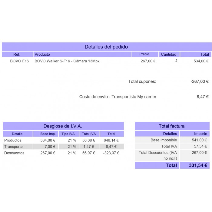 module - Comptabilité & Facturation - Customized Invoice - 4