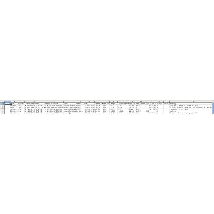 module - Импорт и Экспорт данных - Export orders / customers / catalog - 1