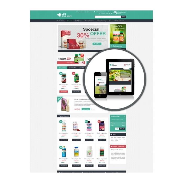 theme - Gesundheit & Schönheit - Leo Drug Store - 1
