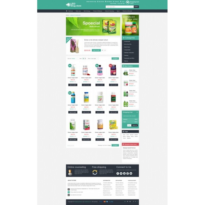 theme - Gezondheid & Schoonheid - Leo Drug Store - 2