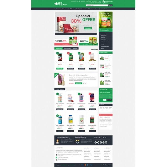 theme - Gesundheit & Schönheit - Leo Drug Store - 3