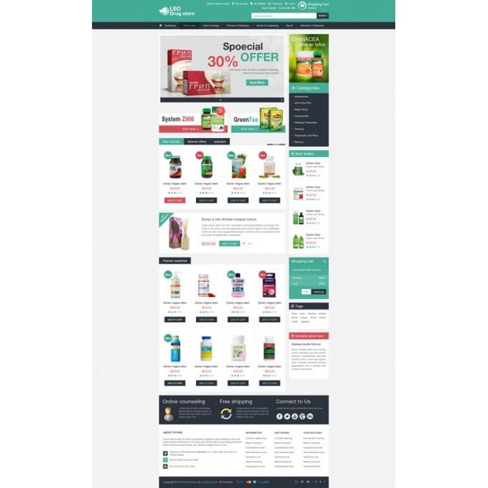 theme - Gezondheid & Schoonheid - Leo Drug Store - 4