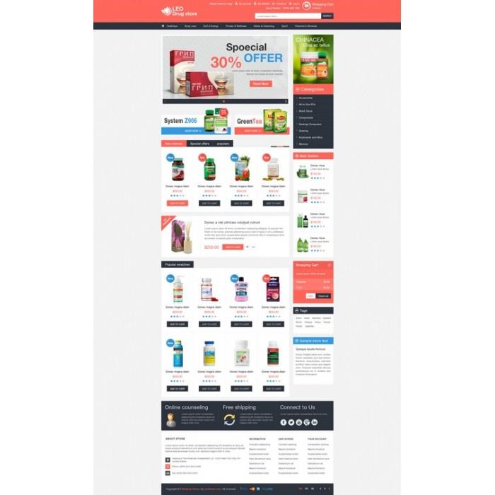 theme - Gesundheit & Schönheit - Leo Drug Store - 7