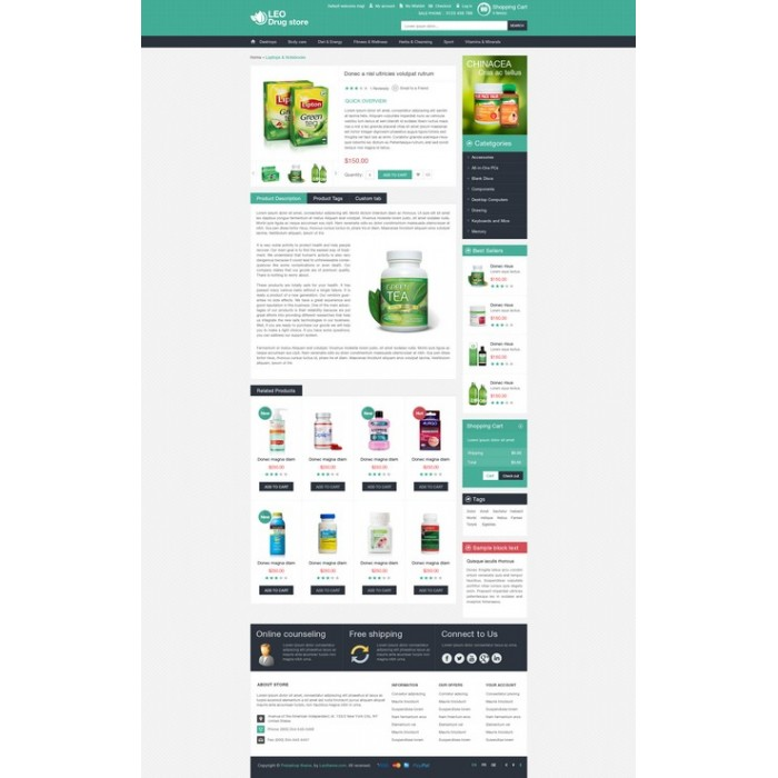 theme - Gesundheit & Schönheit - Leo Drug Store - 8