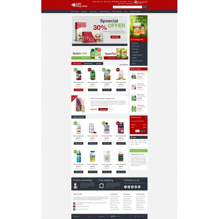theme - Gesundheit & Schönheit - Leo Drug Store - 9