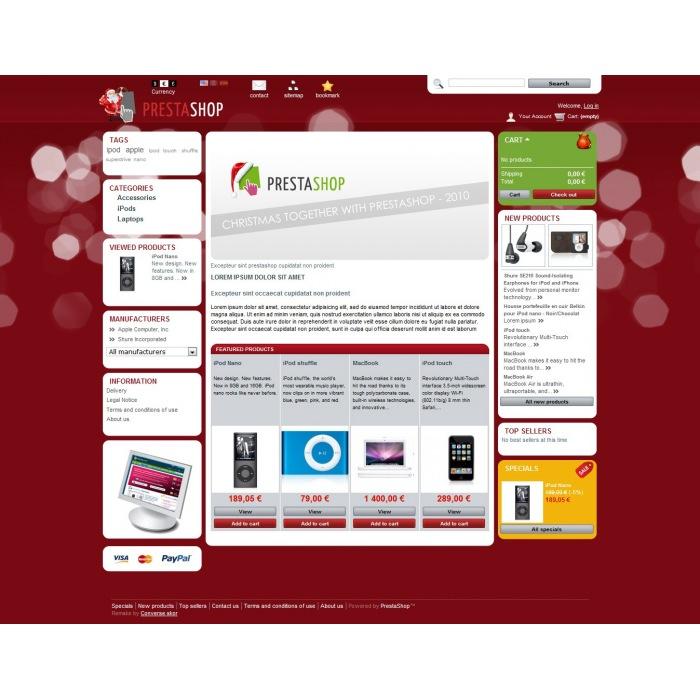 theme - PrestaShop Themen - PrestaShop Christmas 2011 - 3
