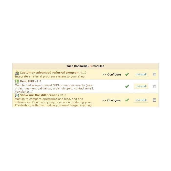 module - Fidélisation & Parrainage - Programme de parrainage avancé - 2