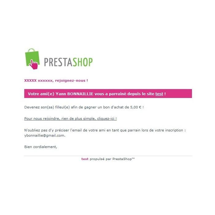 module - Fidélisation & Parrainage - Programme de parrainage avancé - 4