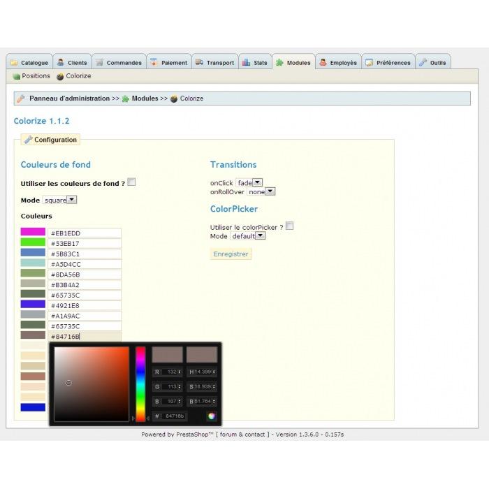 module - Versies & Personalisering van producten - Custom Colors Colorize - 6