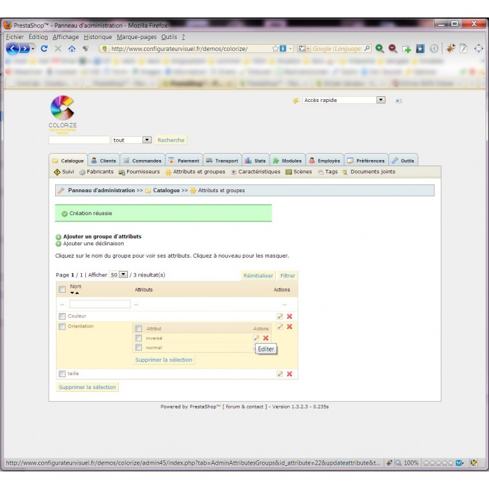 module - Versies & Personalisering van producten - Custom Colors Colorize - 8