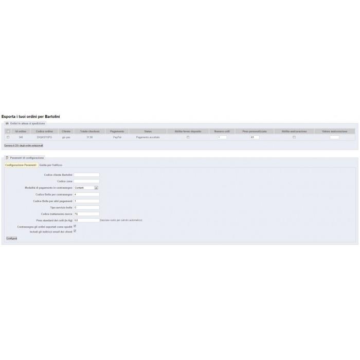 module - Vervoerder - BRT Easyspeed export - 1
