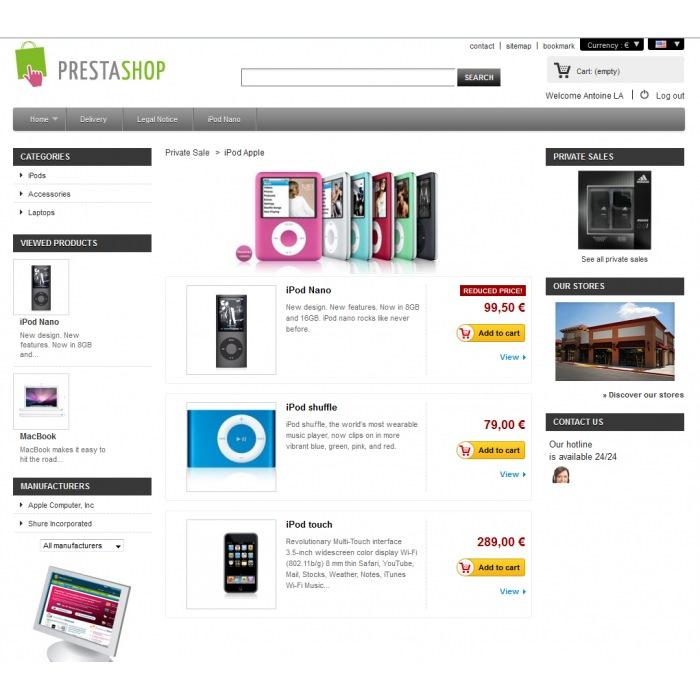module - Flash & Private Sales - Private Sales PrestaShop - 3