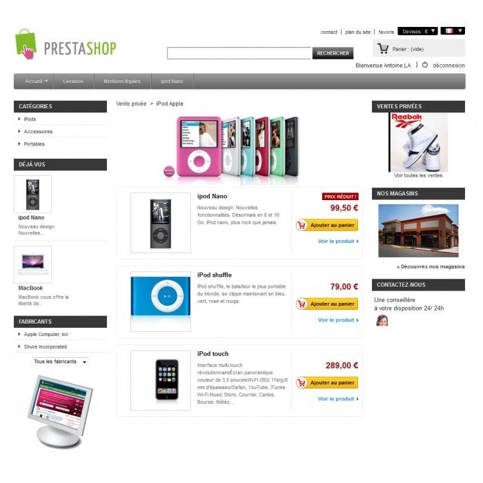 module - Flash & Private Sales - Private Sales PrestaShop - 5