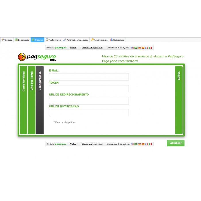 module - Płatność kartą lub Płatność Wallet - pagseguro - 1