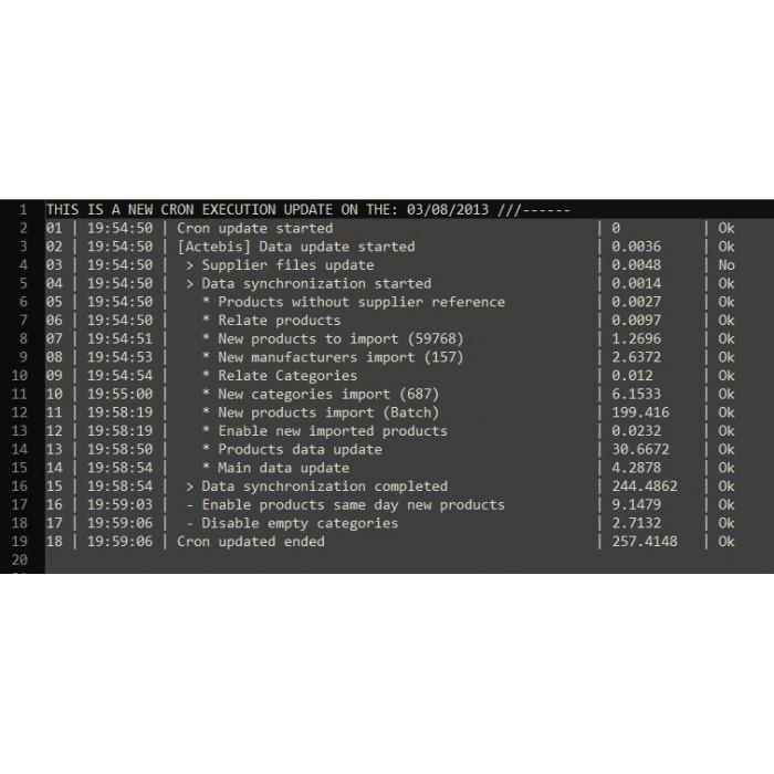 module - Szybkie & Masowe edytowanie - Tech Data Automatic Integration solution - Basic Setup - 3
